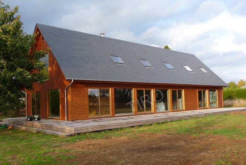 Le choix du constructeur ma maison intelligente - Maison ossature bois en kit ...