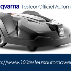 testeur officiel robot tondeuse husqvarna automower