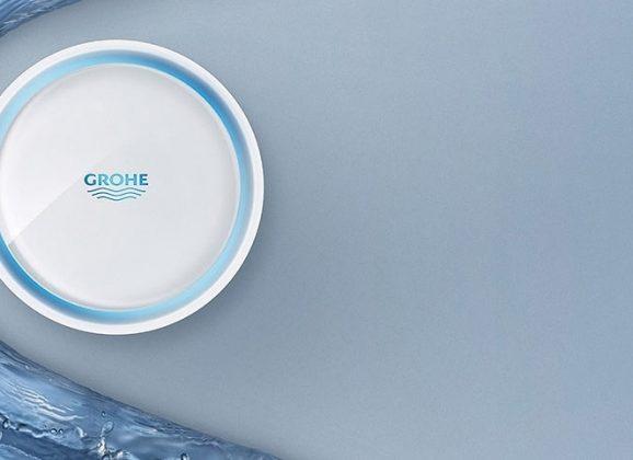 GROHE Sense – Le détecteur de fuites d'eau.