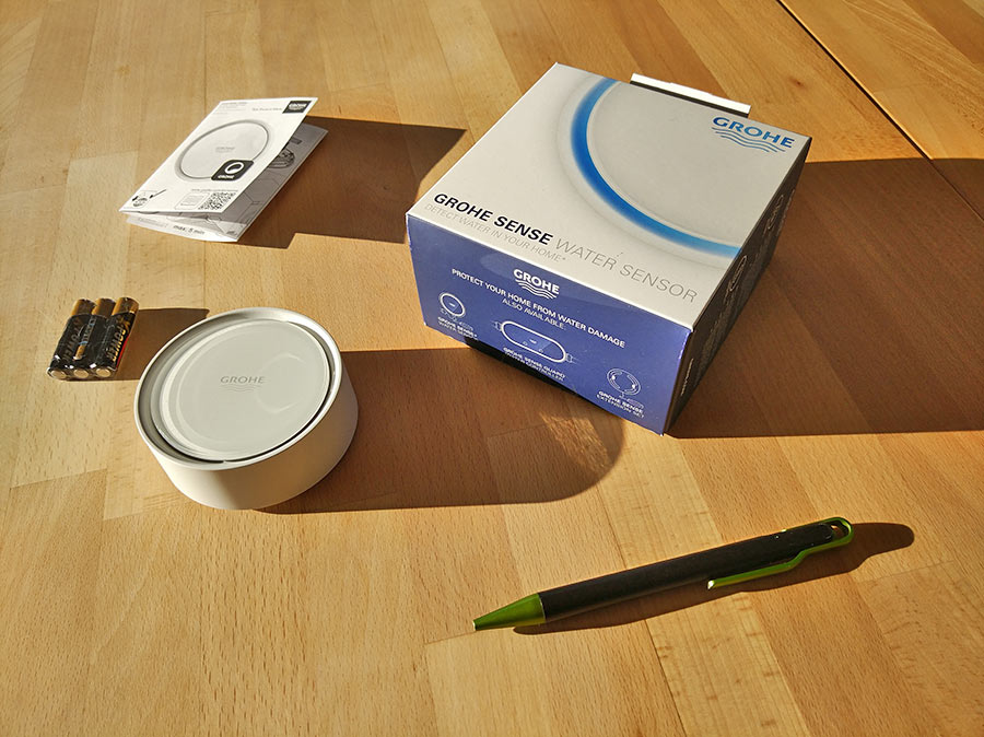 GROHE Sense - Le packaging
