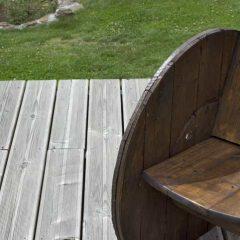 fabriquer un fauteuil de jardin pour Zéro euros !