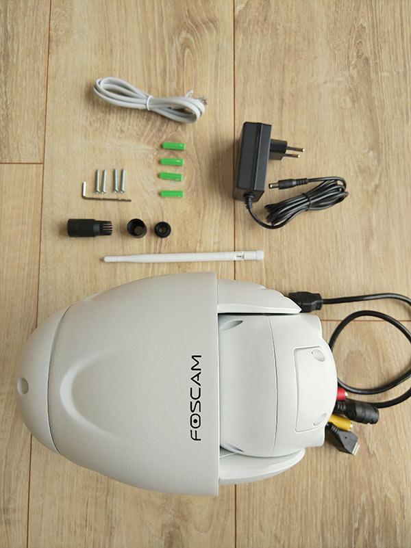 Accessoires camera IP extérieure FI9928P