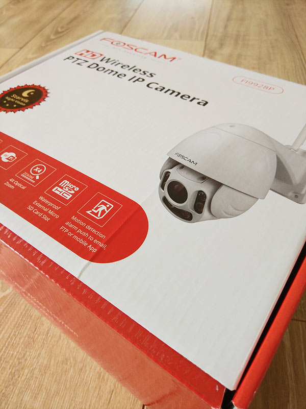 Caméra de surveillance foscam fi9928p