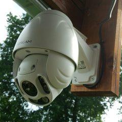 test FOSCAM FI9928P la caméra de surveillance extérieure