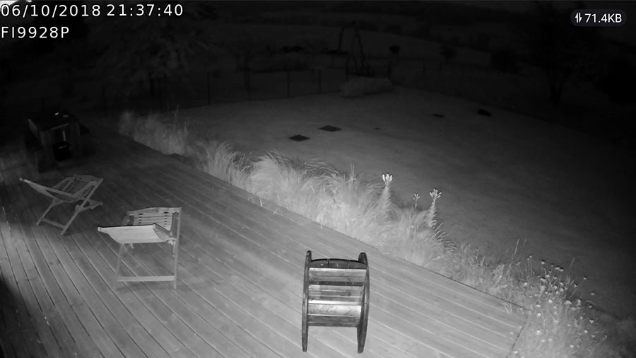 Vision de nuit caméra Foscam fi9928p