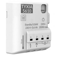 allumer une lampe avec le module TYXIA 5610 – TYDOM