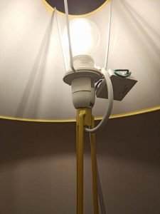 Lampe de chevet équipée du module Tyxia 5650